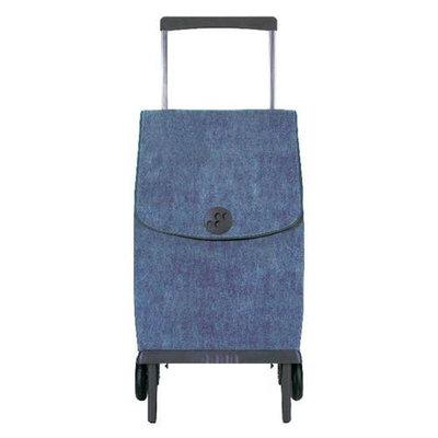 Rolser 8420812046027 PLE004 Plegamatic Shopping Trolley Original Vaquero - Blue - 2 Units