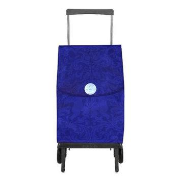 Rolser 8420812930456 PLE055 Plegamatic Shopping Trolley, Original Gloria - Blue - 2 Units
