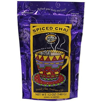 Big Train Spiced Chai Mix, 12-Ounce Bags (Pack of 3)