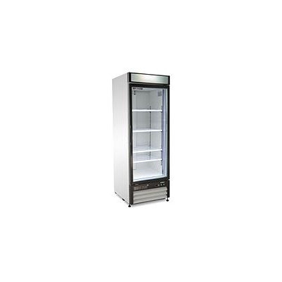 Maxx Cold Refrigeration and Ice Machines and Accessories X-Series 23 cu. ft. Single Door Upright Merchandiser Freezer in White MXM1-23F