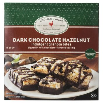 Archer Farms Dark Chocolate Hazelnut Indulgent Granola Bites -15-ct 9