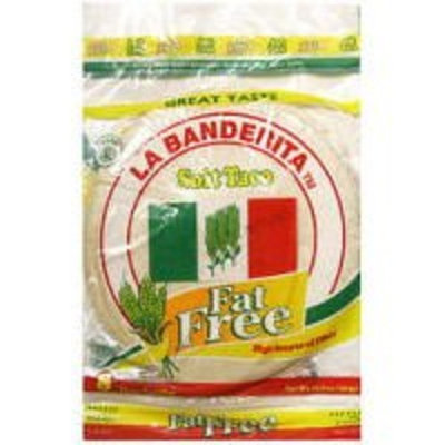 La Banderita 8 Inch Fat Free Soft Taco Tortillas, 8ct