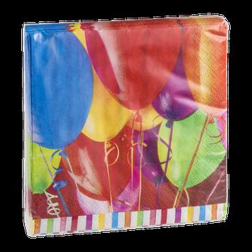 Hallmark Party Beverage Napkins Birthday Balloons - 16 CT