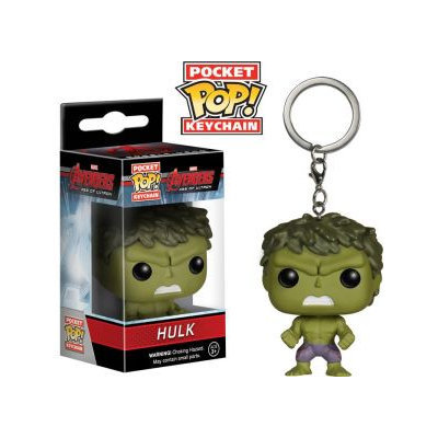 Hulk Pocket Pop! Keychain by Funko - Marvel's Avengers: Age of Ultron