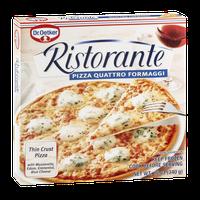 Dr. Oetker Ristorante Thin Crust Pizza Quattro Formaggi