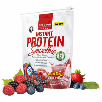 Six Star Pro Nutrition Mixed Berry Instant Protein Smoothie