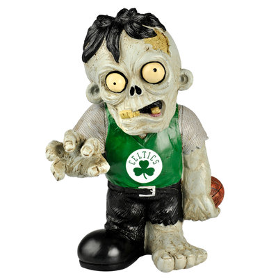 Recaro North Forever Collectibles NBA Resin Zombie Figurine, Boston Celtics