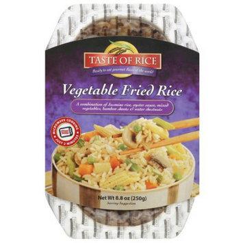 Taste Of India Taste of Rice Vegetable Fried Rice, 8.8 oz, (Pack of 6)