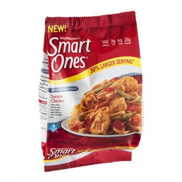 Smart Ones Satisfying Selections Sesame Chicken