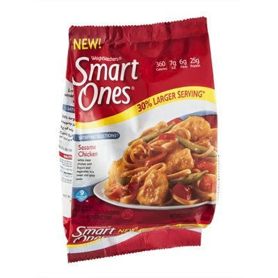 Weight Watchers Smart Ones Satisfying Selections Sesame Chicken