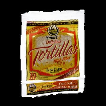 LaTortilla Factory Smart & Delicious Low Carb Original Tortillas
