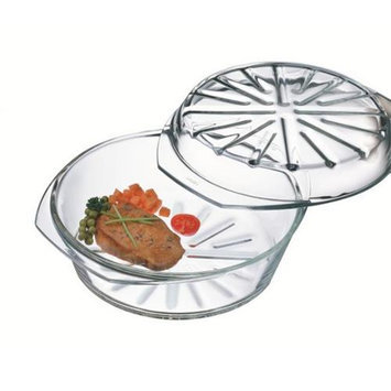 Simax 6176/6186/P Round Casserole with Lid - 2.5 Quart