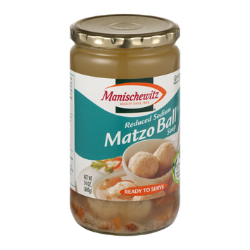 Manischewitz Matzo Ball Soup Reduced Sodium