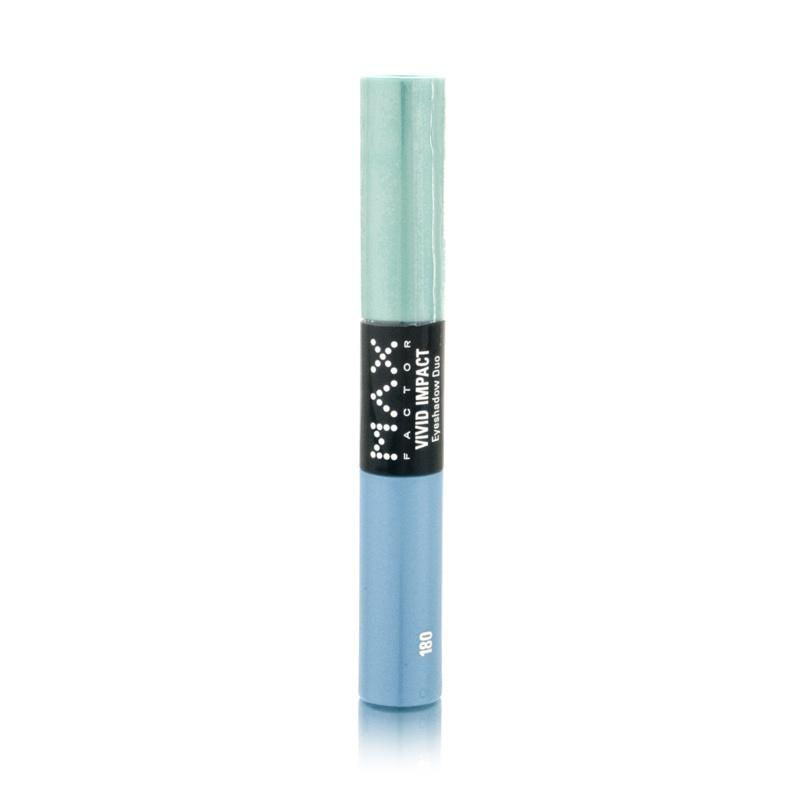Max Factor Vivid Impact Eyeshadow Duo 180 Emerald Coast