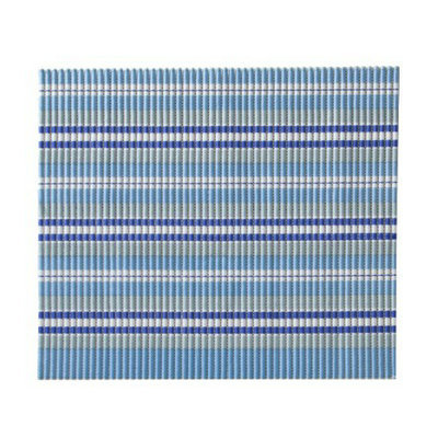 Boots & Barkley Small Space Litter Mat - Sea Blue Stripe