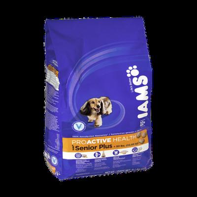 Iams Proactive Health Senior Plus < 50lbs Adult Dog Food