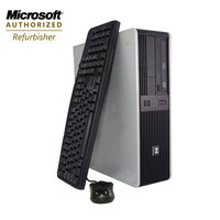 Bevco Games, Inc. Refurbished: HP DC5700 Desktop Core2Duo 1.8GHz 4GB RAM 1000 HDD DVD/CDRW Win7 Pro