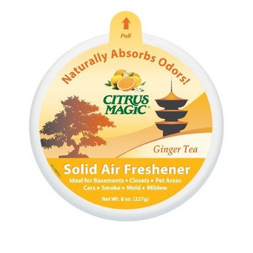 Citrus Magic Solid Air Freshener, Ginger Tea, 8-Ounce