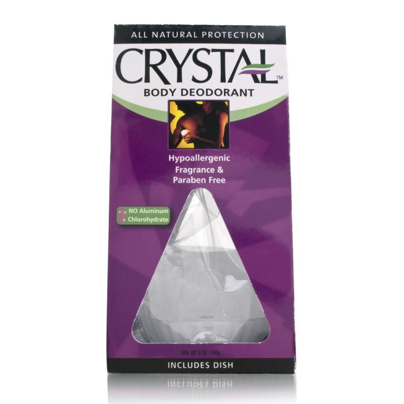 Crystal Body Rock Deodorant