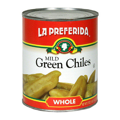 La Preferida Whole Green Chiles