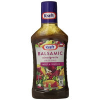 Kraft Salad Dressing Balsamic Vinaigrette Salad Dressing & Marinade, 16 FL OZ (Pack of 6)