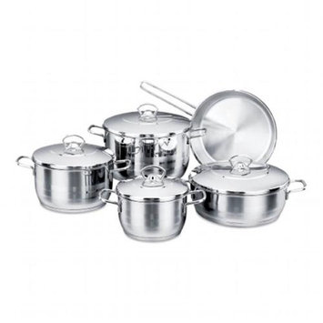YBM Home A1901 Stainless Steel Cookware Set 11 Piece