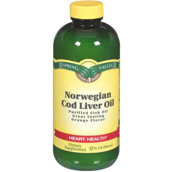Spring Valley Norwegian Cod Liver Oil, 12oz