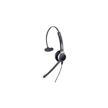 ADDASOUND Crystal 2801 Monaural Headset - Wired, lightweight, adjustable headband - ADD-CRYSTAL2801
