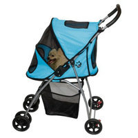 Pet Gear Ultra-Light Pet Stroller - Ice Blue (Small)