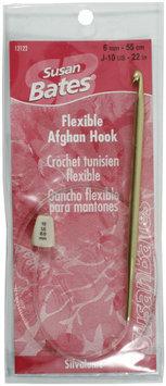 Susan Bates Silvalume Flexible Afghan Hook 22