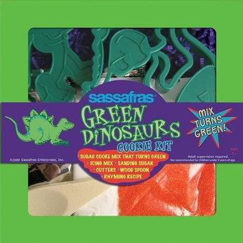Sassafras Green Dinosaur Cookie Set