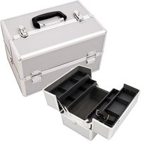 Just Case Usa Inc. Justcase SH5004PPSL Silver Pro Beauty Case