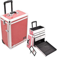 Just Case Usa Inc. Sunrise E6303CRHP Hot Pink Crocodile Large Drawer Tl Case
