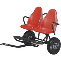 Berg Usa Berg 18.28.24 Two-Seater Multi-Purpose Trailier