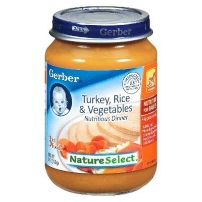 Gerber 3rd Foods Turkey Rice and Garden Vegetables Dinner - 6.0 oz.