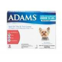 Adams Spot On Flea & Tick Control for Puppies, Toys & Miniatures Under 15 lbs