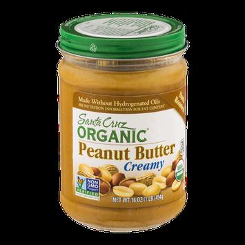 Santa Cruz Organic Creamy Peanut Butter Dark Roasted