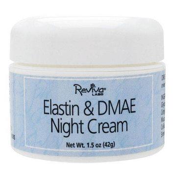 Reviva Labs Elastin & DMAE Night Cream, 1.5 oz