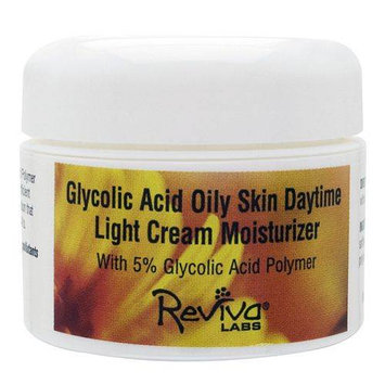 Frontier Reviva Labs Glycolic Acid Oily Skin Daytime Light Cream Moisturizer