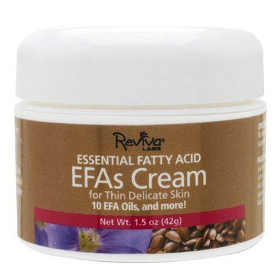 Frontier Natural Products Co-op 223141 Reviva Labs Moisturizers EFAs Cream 1.5 oz 1.5 oz.