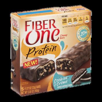 Fiber One Protein Bars Cookies & Cream
