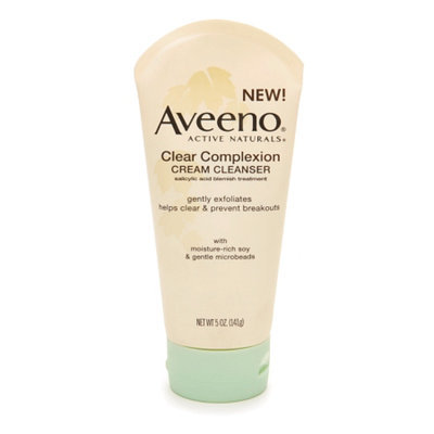 Aveeno Active Naturals Clear Complexion Cream Cleanser