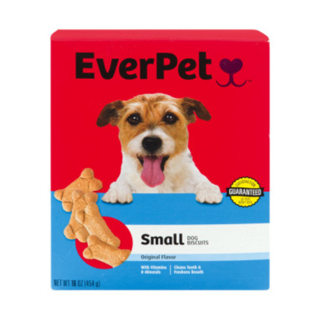 Everpet EverPet Small Dog Biscuit Biscuits - Original Flavor, 16 oz