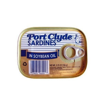 Port Clyde Sardines in Soybean Oil 3.75 oz