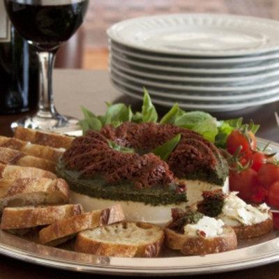 Alder Creek Gifts Pesto Dried Tomato Torta, 1 ea