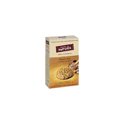 Back to Nature Honey Nut Granola Cookies, 8.5000 oz(Pack of 12)