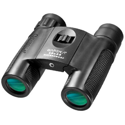 Barska Optics AB11844 10x25 WP Blackhawk Compact, Bak-4, Green Lens