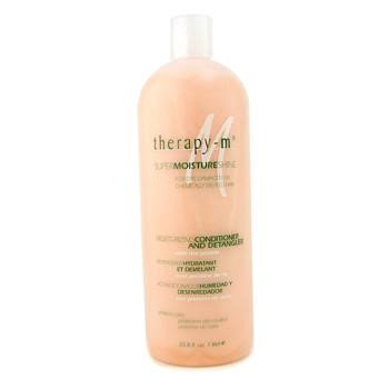 Therapy-g SuperMoistureShine Moisturizing Conditioner and Detangler (For Dry Damaged or Chemically Treated Hair) 1000ml/33.8oz