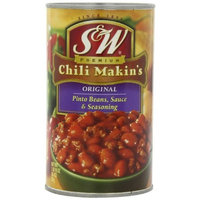 S&W Chili Makin's, 26-Ounce (Pack of 6)