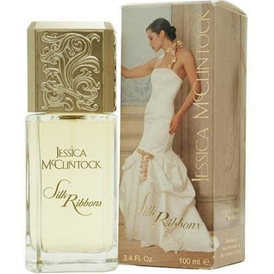 Jessica Mc Clintock Silk Ribbons By Jessica Mcclintock For Women. Eau De Parfum Spray 3.4 oz